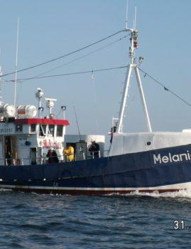 Jacht motorowodny Melania